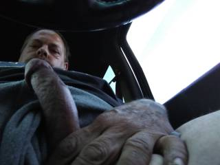 Sitting out my car at a friend of mine\'s motel room watching through the window him fucking his old lady and my cock got hard does anybody want to help me take care of it
