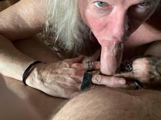 Let this cock whore drain your cum.
