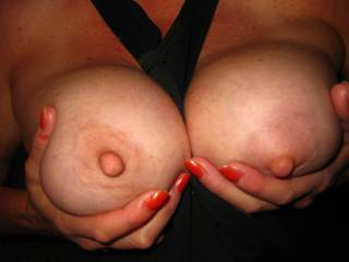 mmm would love to cover those beauties with a massive load of cum
