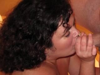 new friend's wife sucking hubby's dick