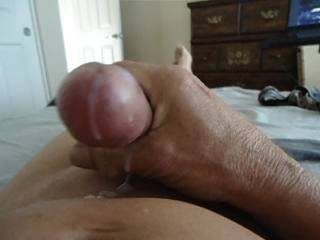 OMG, I would just love to finish that off for you Baby.  I love being fucked by an older gentleman, with a nice big, stiff cock, and having him shoot a huge load into me.