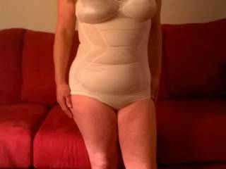 I like this lil outfit on you ;) All you need is to replace those socks with some black stockings ;).  XoxO  Deep.Throat.Her.
