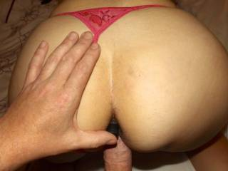 Fucking wife with bullet up her ass