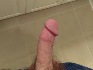 That big cock would look very nice stretching my wife's tight pussy