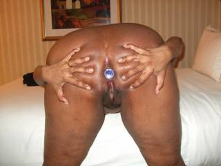Open wide and show all how you want to be humiliated by a stranger while hubby is at work