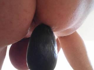 i love the feeling of a nice big butt plug in my tight asshole ooohhhhhhhh i had an anal cum