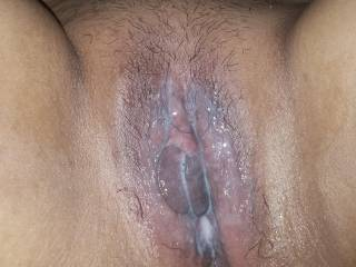 I was having a good afternoon of sex with my wife and she got rather turned on