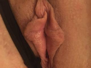 Close up of her lovely pussy lips