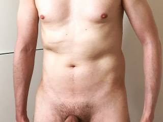 All nude me with my foreskin back …