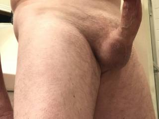 Just horny and wanting my balls drained again.
