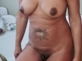 New fuck friend showing off her sexy body...