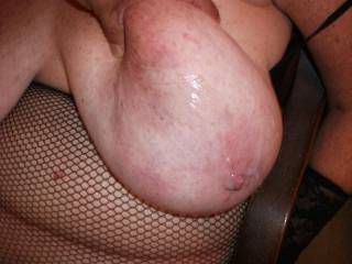 love fucking her massive tits and then drenching them with cum.. You better believe i cleaned it up.  Fucking delicious.  Any one want to add and help?