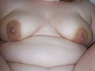 Fucking Lupo's wife and looking down at her tits.  Anyone else want to look at her tits as you fuck her?