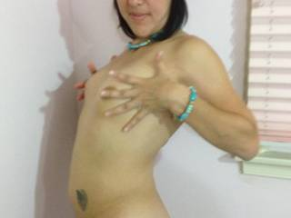 I would love to make your man  watch me cum deep in that pretty little pussy.