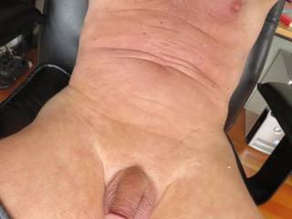 playing around and getting ready to stroke my cock off
