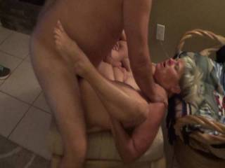 Watch her take this cock and cum multi times before she takes the cum shot herself. Think she enjoyed it?