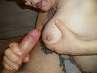 Hi all I do love the feel of fresh hot cum all over my skin comments welcome mature couple