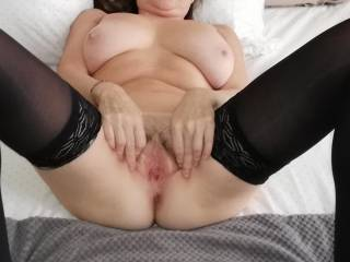 I hope you enjoy my photos and they make you very hot and I receive many pics or video cum tribute