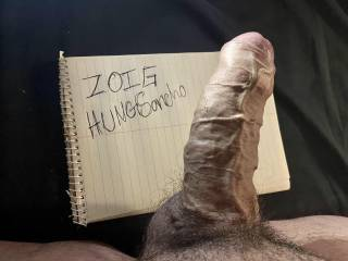 Hard thick cock in need