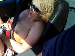 Gonna be driving around the upper peninsula this coming weekend showing my tits be ready