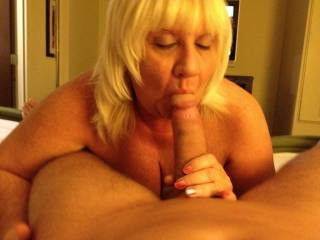 ...looking forward to having your sweet lips wrapped around my cock like that soon :-)