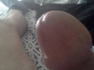 """Mmmm... Stuff that, """"BIG BULBOUS COCK-HEAD"""", into my mouth ... then, down my THROAT!  Sue XO"""