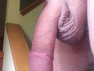 You have a beautiful cock.  So nice to lick and suck and get hot cum from.  I'd enjoy sucking your wife's pussy juices off your cock after you fuck her and then feeling your delicious cum fill my mouth as I suck and lick you to completion.  Do you like having your cock buried in her lovely cunt?  Would you consider a 69 with me? Love and sucks, Bob