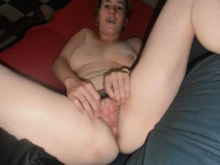 id love to pump your gaping pussy full of my cum and lick it as it runs down your ass mmmm