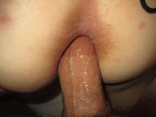 Tell your boy friend he's an idiot he's missing the best part fuckin that ass is like a bonus and that butthole looks pretty tight I would be collecting all of that bonus