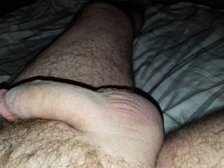 Would you ride it til your juices soak these big smooth balls?