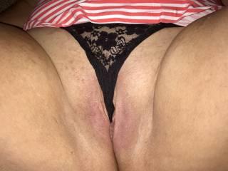 Panty flash