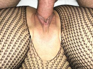 Tight pussy and lips eating cock