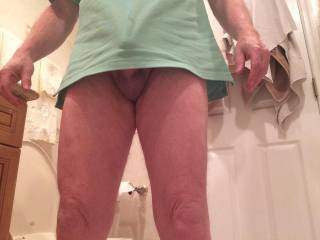 my little friend want to cum out
