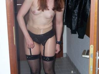 Nice photo. Got my cock hard. I like the look on your face. I want to bend you over and fuck you and don't stop until you scream. Your body is beautiful and very fuckable. Do you want my cum?