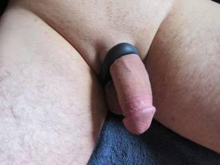 just love the feeling of good cock and ball rings