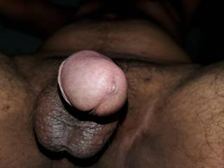 Nice close up view of my pink head and balls