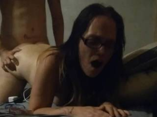 She said she wanted to be fucked like the dirty little slut she is