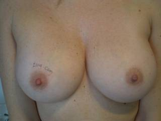And your tits are even awesome!!  Great shape and beautiful nipples and aureoles!!  MMMmmm.  And so firm!