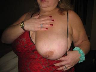 my wifes huge tits