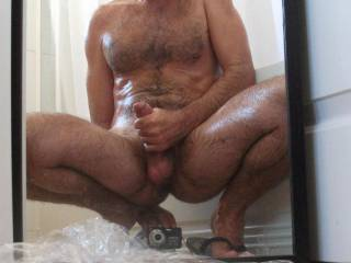 u have a great sexy looking body and cock...very nice