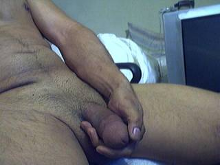 How about letting me play with it?!?  I'd be happy to suck that hot cock!! YUM!