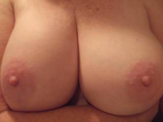 I can't always get a clear shot so sorry this one is a little soft and fuzzy but it does make for a nice soft and suck-able and ample look to them do you agree?