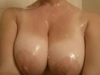 screw the soap those need some cum on them