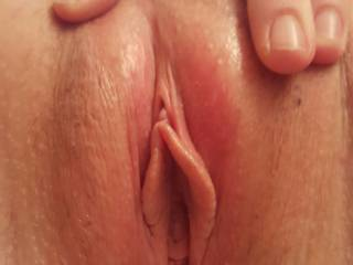 Close up... ready for a good fuck