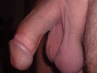 I love the shape of my hubbies cock and balls, what do others think?