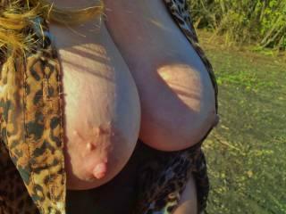 Wife has sexy Big Tits :)