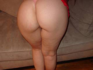 THAT is what i call a full thick well shaped ASS!! Perfect for grabbing, slapping, licking, fucking and looks good in and out of clothing...what a rump!