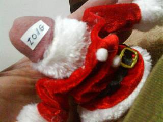 I found Santa outfit for my little helper! Who want to undress him ?