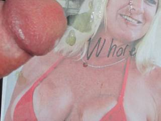 My whore fills out a bikini!