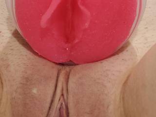 She cloned her pussy using clone a willy \'s new toy.  Which should I fuck first?